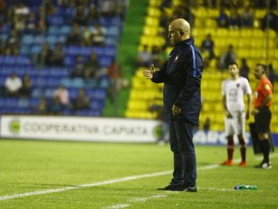 Fernando Jubero habló de lo que fue el choque ante Capiatá