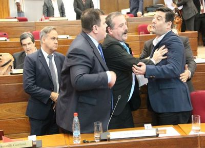Liberales a la carga: Buzarquis y Amarilla casi llegan a los puños