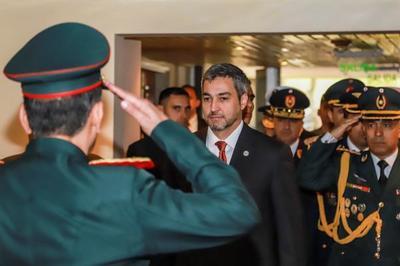 Presidente cumplirá agenda castrense y luego visitará  al Frigorífico Chortitzer en el Chaco