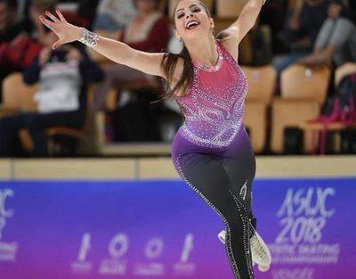 Atletas listos para Sudamericano de patinaje artístico