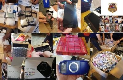 Aduanas decomisa más de 32.000 productos falsificados en lo que va de abril