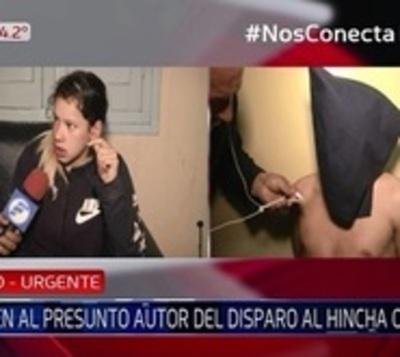 Hincha baleado: Detienen a tres sospechosos