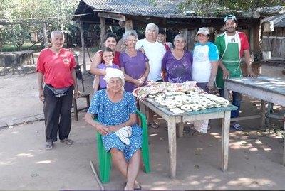 Tradición familiar del chipa apo en San Pedro