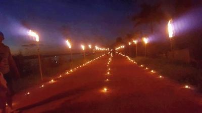 Camino de luces emerge como atractivo en Concepción