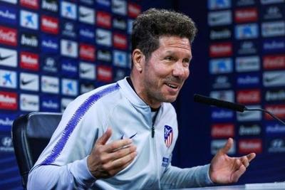 """HOY / Simeone: """"La crítica no es justa, Messi es extraordinario"""""""