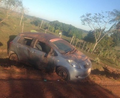 Excandidato a la Intendencia sufrió accidente en Quyquyhó