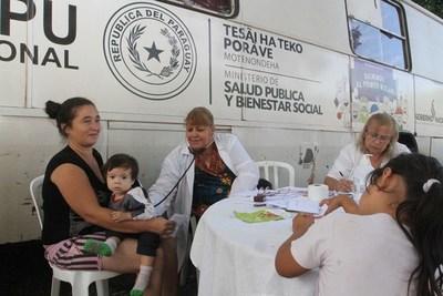 Ministerio de Salud prevé amplia cobertura en Tañarandy por Semana Santa