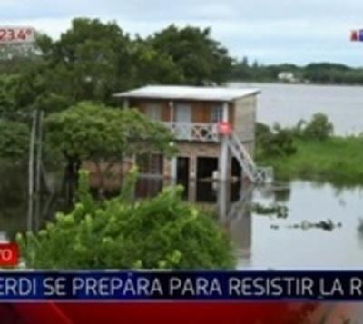 Río alcanzó la cota de 'desastre' en Alberdi