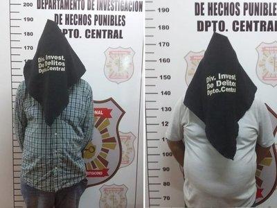 Volvieron de argentina y al bajar de colectivo les robaron todo