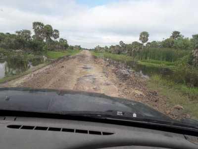 Rehabilitan principales caminos de acceso a Bahía Negra y Fuerte Olimpo