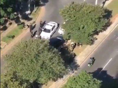 Fiscalía imputó a conductor involucrado en persecución y balacera