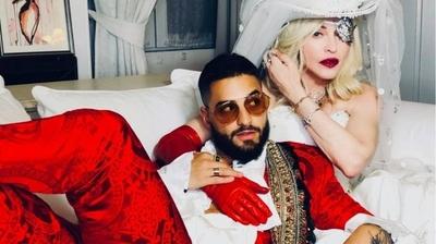 HOY / Mezcla de pop, urbano y trap  de Madonna y Maluma desata  burlas y memes en las redes