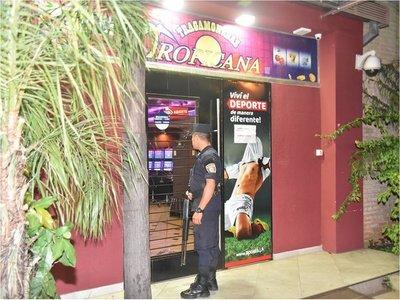 Por segundo año consecutivo, asaltan casino en Luque