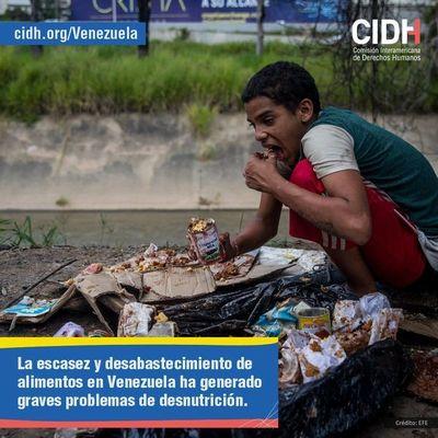 CIDH difunde informe sobre violacion de derechos de Venezuela