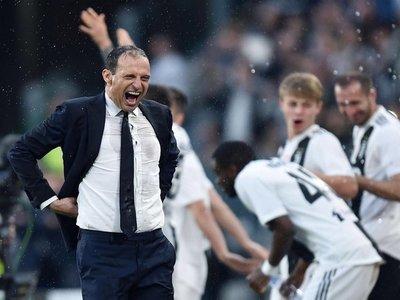 "Allegri: ""Es seguro que me quedo en Juventus"""