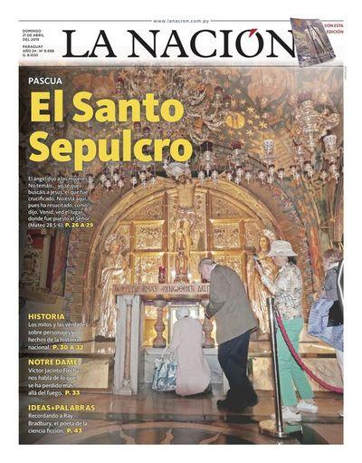 Edición impresa, 21 de abril de 2019