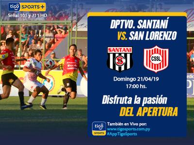 Choque de necesitados entre Deportivo Santaní y San Lorenzo