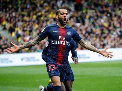 El París Saint Germain campeón de Francia antes de jugar frente al Mónaco