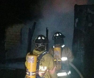 Fuego consume vivienda en Minga Guazú