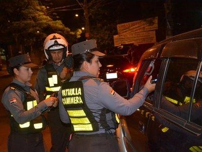 Cerca de 400 conductores ebrios fueron retenidos por la Caminera en Semana Santa