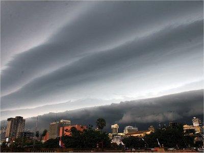 Advierten sobre núcleos de tormentas con tendencias a intensificarse