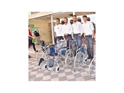 IPS asigna 7 transportadores de sillas de ruedas, ante robos