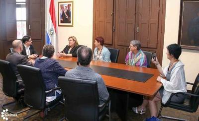 Impulsarán proyectos de cooperación cultural entre Suiza y Paraguay