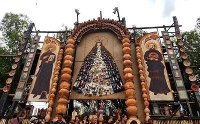 Llegan santos hasta de Buenos Aires para lucirse en Tañarandy