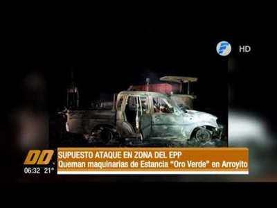 Supuesto ataque en zona del EPP