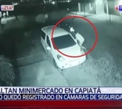 Así fue el tiroteo entre delincuentes y vecinos en Capiatá