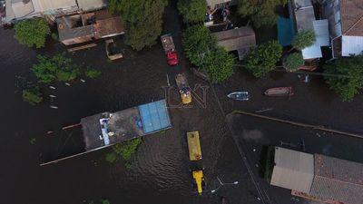 Situación crítica: 80% de Nanawa bajo agua