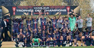 PSG logra su octava Liga Francesa