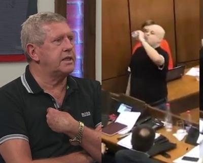 """Anibal Schupp trató de """"tilingo"""" y """"enfermo"""" a Payo"""