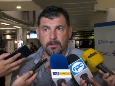 Tato García ratificó su renuncia como DT de Santaní