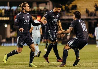 Primer gol de Moreira en la MLS