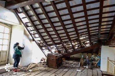 Verifican daños en la iglesia de Paraguarí