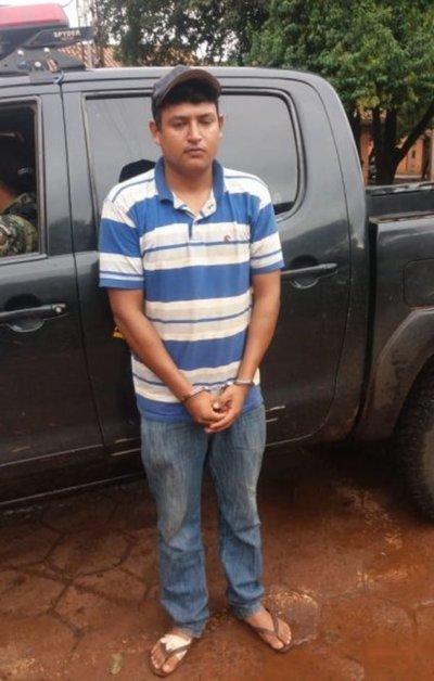 Detienen a un presunto asaltante en Pedro Juan