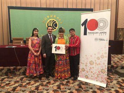 Cien arpas paraguayas en concierto para celebrar 100 años de amistad con Japón