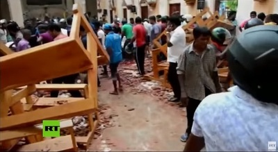 Estado Islámico se atribuye matanza en Sri Lanka