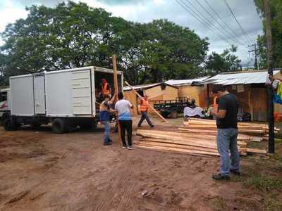 Cerca de 12.000 familias desplazadas por la inundación en Asunción