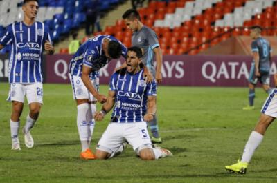Godoy Cruz vence a Sporting Cristal y se mete a la pelea