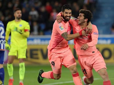 Compacto Alavés 0-2 Barcelona