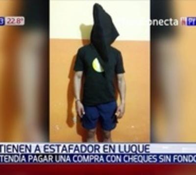 Presunto estafador fue detenido por la Policía en Luque