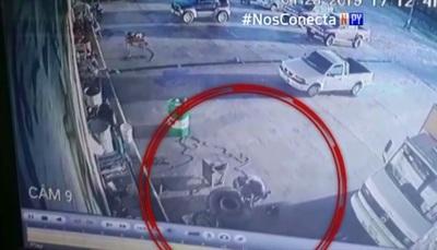 Video retrata accidente fatal en gomería
