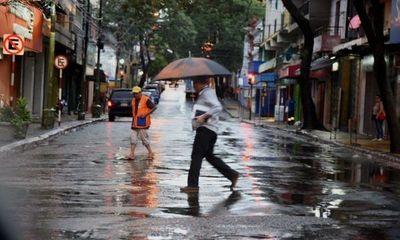 Persiste pronóstico de lluvias dispersas