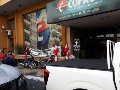 Copaco: Sindicalistas anuncian posible huelga