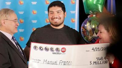 Tiene 24 años y ganó 768 millones de dólares en la lotería de EEUU