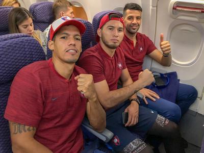 El plantel de Cerro Porteño no pudo aterrizar en Barinas