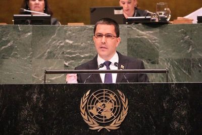Boicot al canciller de Venezuela en la ONU