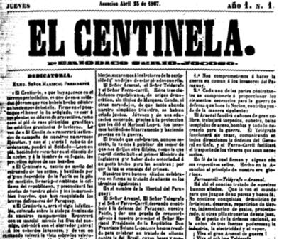 El Centinela, el periódico de trinchera